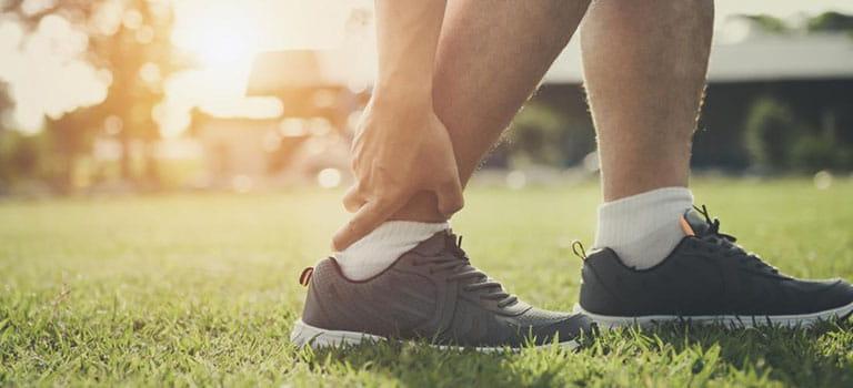 futsal ankle injury